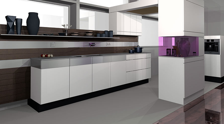 3D Computer Modelled Kitchens