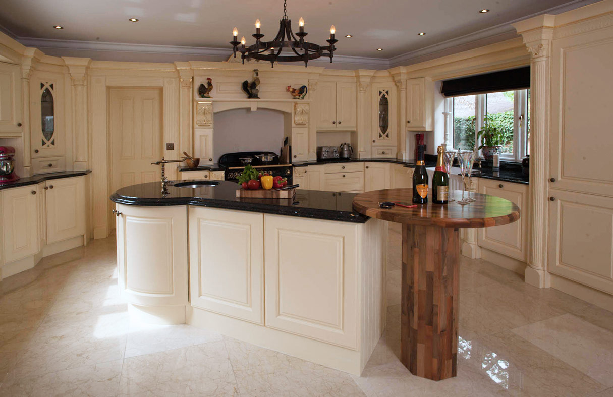 Broadway bespoke victorian kitchen handmade bespoke for Edwardian kitchen