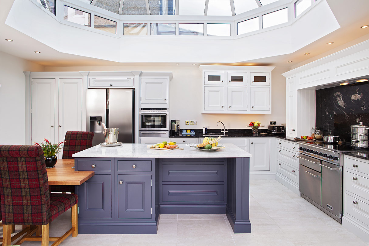 Broadway Hand Painted Shaker Kitchen - Handmade Bespoke Kitchens by ...