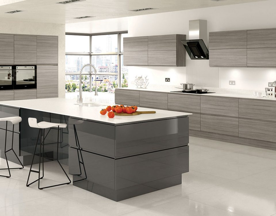 Curved Modern Kitchens | Broadway modern kitchen designers