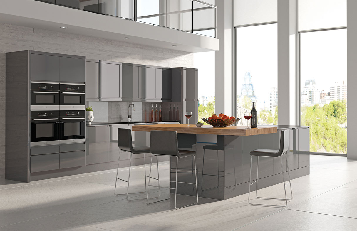 Designer German Style Modern Kitchens | Broadway kitchen ... on Modern Kitchen Design  id=56412