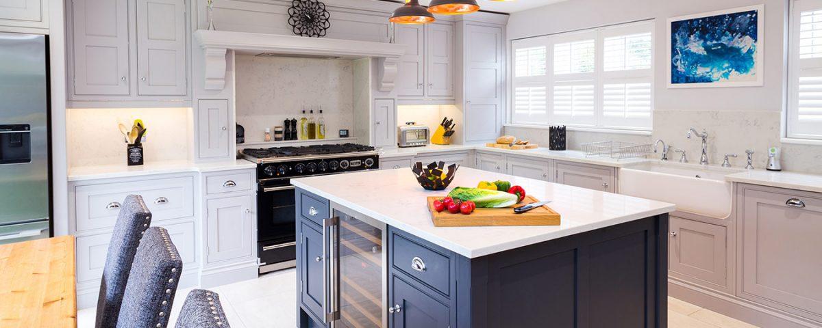 inframe designer shaker kitchen